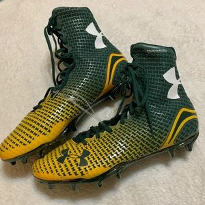 Under Armour Packers Football Cleats Size 13